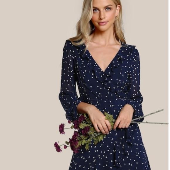 fa34cf05122 ... sleeve mini wrap Dress L. SHEIN. M 5c3930ffdf03078dd42f07a3.  M 5c3930fcde6f62c76f06b485. M 5c3930fefe5151dc8202ee25
